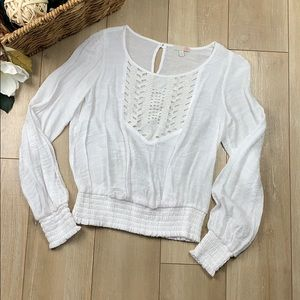 Gianni Bini long sleeve blouse